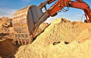 доставка песка в москве